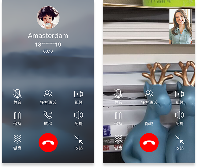 Video call-SparkleComm