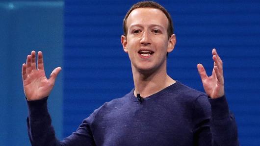 Facebook的首席执行官马克扎克伯格